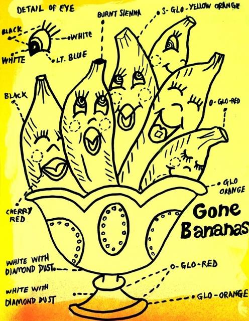 Joe Grillo, 'Gone Bananas', 2016, Erdmann Contemporary