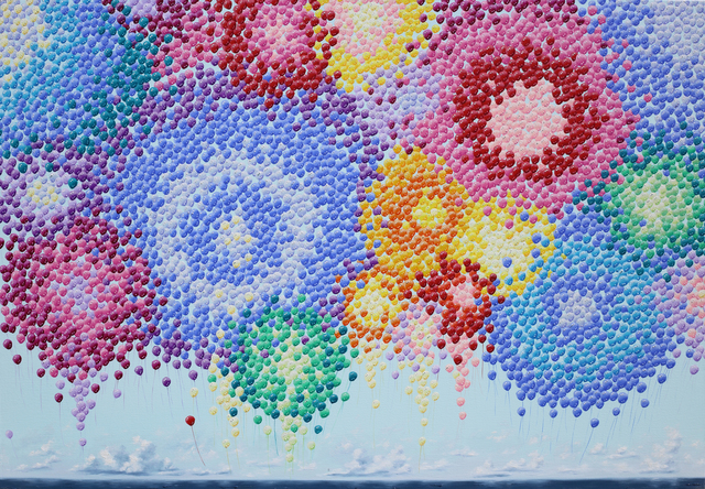 , 'Balloonscape-boundless ocean,' 2016, GAMO Gallery