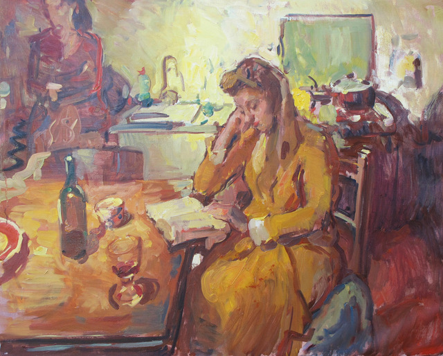 Ben Fenske, 'Florence at the Table', 2014, Grenning Gallery