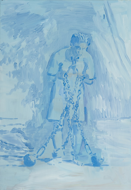 , 'King of Escape (Houdini),' 2016, Galerie Zwart Huis