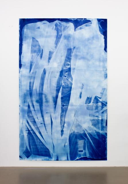 , 'Vorhang Blau 8,' 2019, Pilar Corrias Gallery