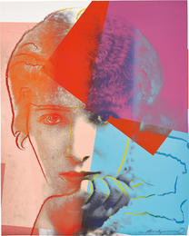Sarah Bernhardt, from Ten Portraits of Jews of the Twentieth Century