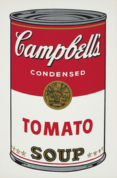 Tomato, from Campbell's Soup I