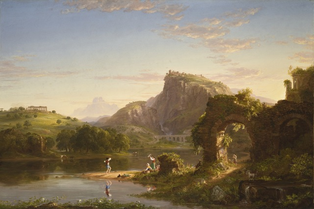 Thomas Cole, 'L'Allegro', 1845, Los Angeles County Museum of Art