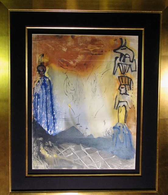 Salvador Dalí, 'Mosses & Monotheism Nightmare of Moses ', 1975, Fine Art Acquisitions