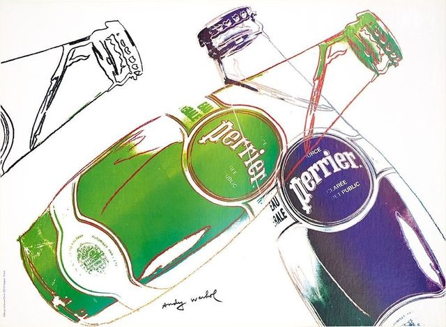 Andy Warhol, 'Perrier', 1983, EHC Fine Art
