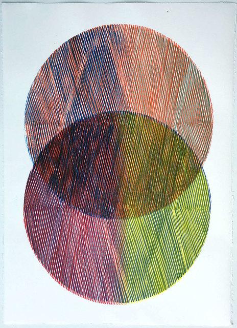 , 'Mandorla Study I (framed),' 2018, Queenscliff Gallery & Workshop