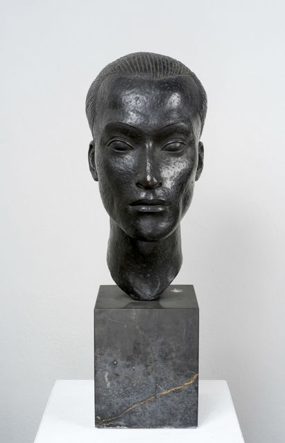Else Fraenkel, 'Chungsen Chou (Head of a Chinaman)', 1928, Ben Uri Gallery and Museum