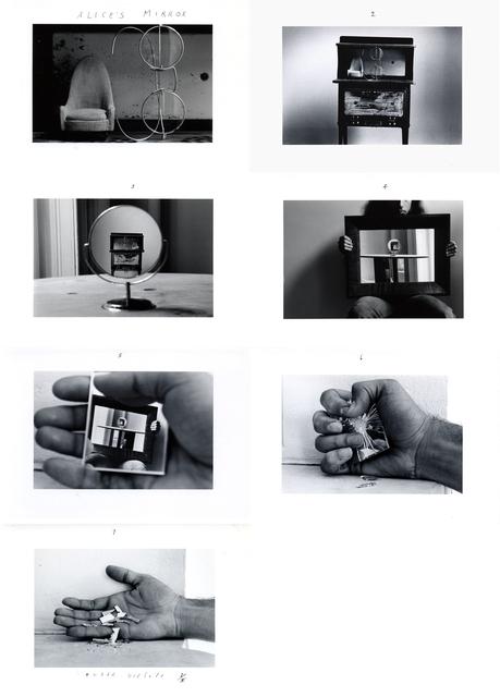 , 'Alice's Mirror,' 1974, Nohra Haime Gallery