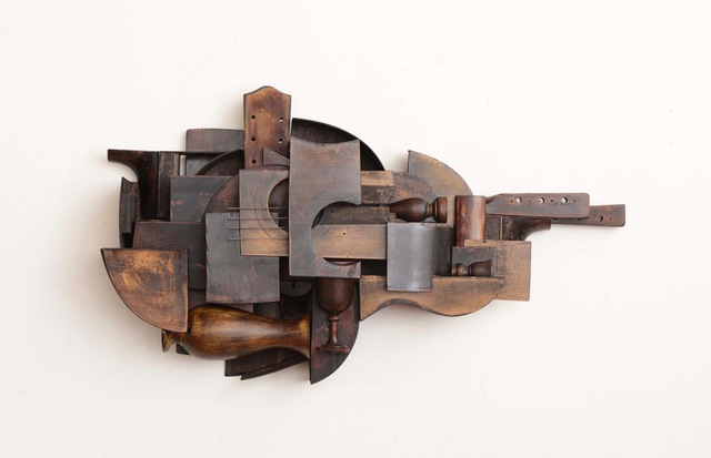 Koji Takei, 'Two Guitars #1', 2013, William Turner Gallery