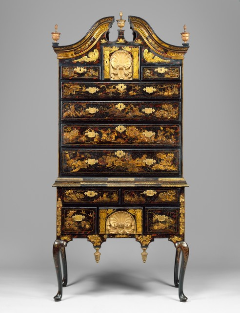Unknown American, 'High chest of drawers', 1730–1760, The Metropolitan Museum of Art