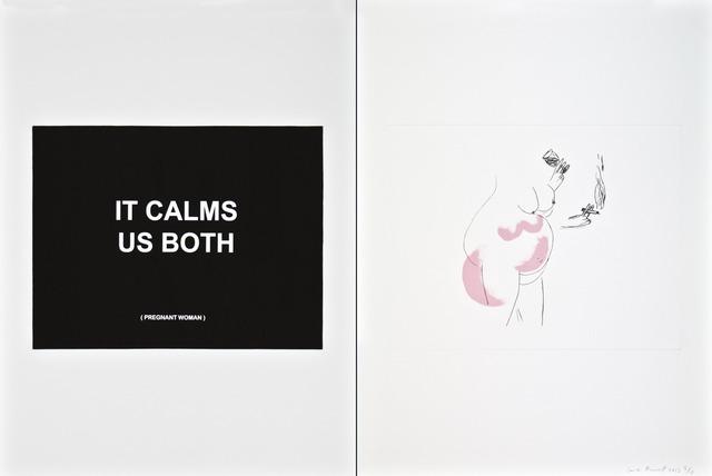 , 'It calms us both - 3,' 2013, Polígrafa Obra Gráfica