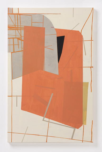 Judy Cooke, 'Tangerine, Celebes', 2015, Painting, Oil and wax on wood, Elizabeth Leach Gallery