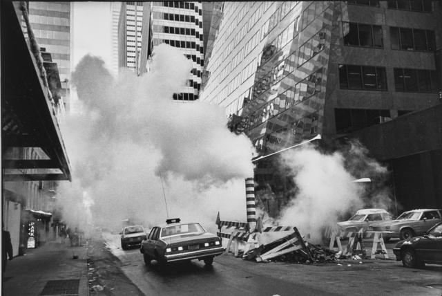 Marc Riboud, 'Steam in New York', 1987, Rago