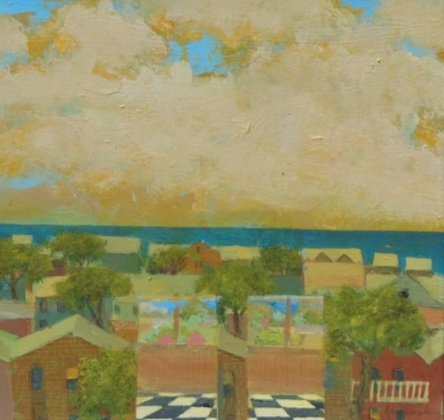 , 'Top Floor View,' 2016, Bowersock Gallery