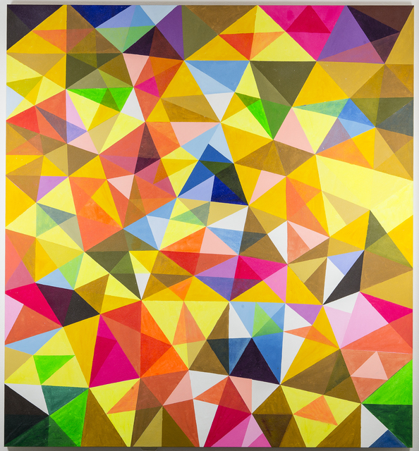 , 'Improv with Triangles IV,' 2015, MOV'ART Gallery