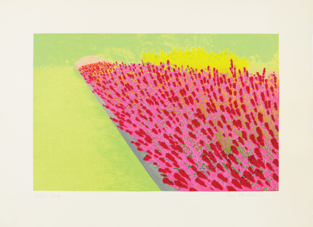 , 'Privacy Plot : Flower Garden,' 1970, Bernard Jacobson Gallery