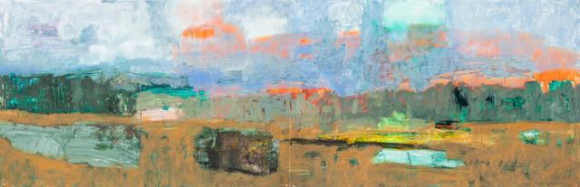 , 'Rain Pond, Wagon Mound,' 2017, Valley House Gallery & Sculpture Garden
