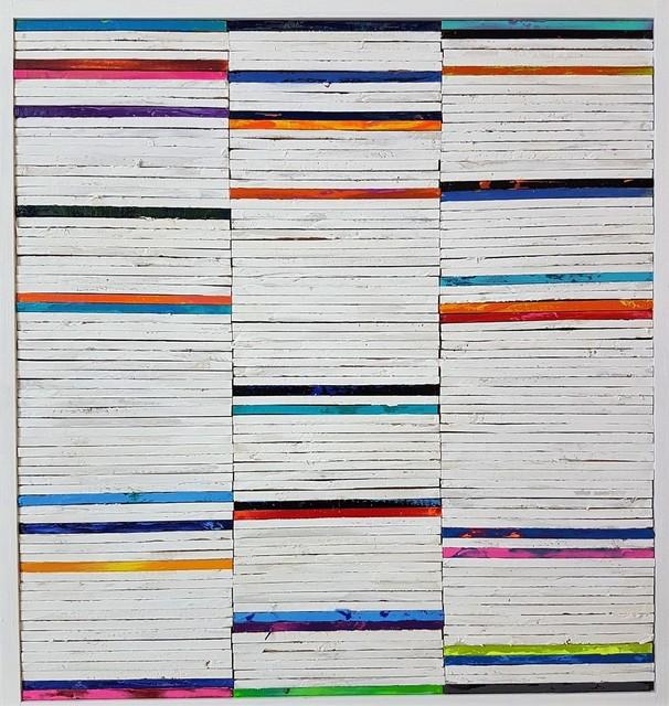 , 'Lathe Painting #18,' 2018, Cerbera Gallery