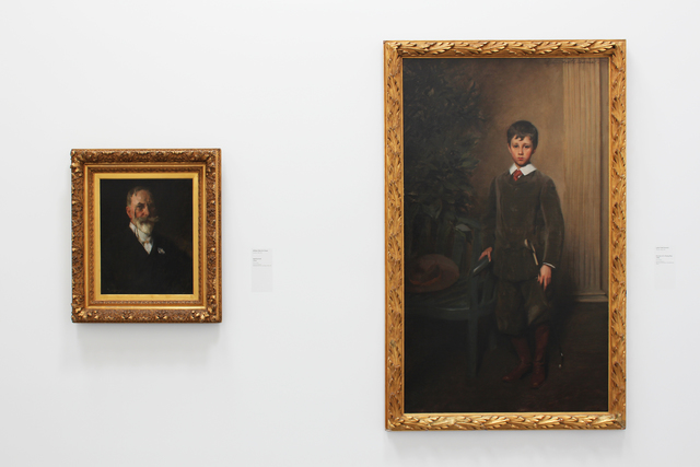 , 'Installation view of William Merritt Chase: Portraits in Context, as part of the Permanent Collection Installation at the Parrish Art Museum,' , Parrish Art Museum