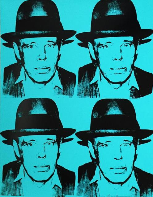 Andy Warhol, 'Joseph Beuys', 1980, Leslie Feely