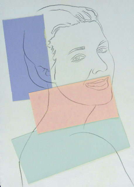 , 'Presumed Portrait of Antoine Grunn (Female Portrait) with blue, pink and green,' 1982, Gilden's Art Gallery