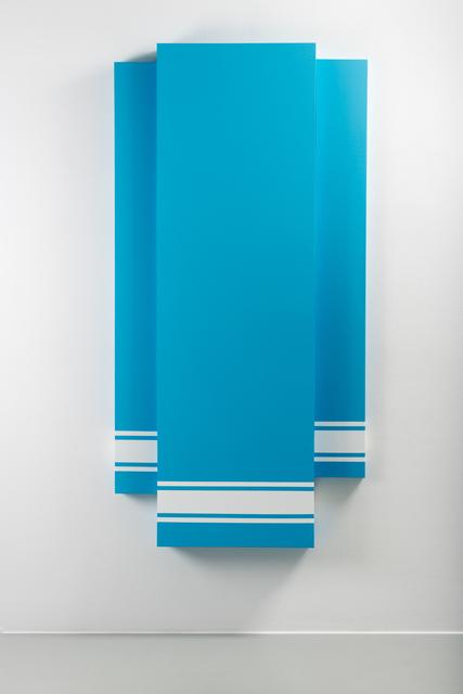 Mathieu Mercier, 'LASCAUX 983 on background UNIK 027-6A', 2014, Galerie Mehdi Chouakri