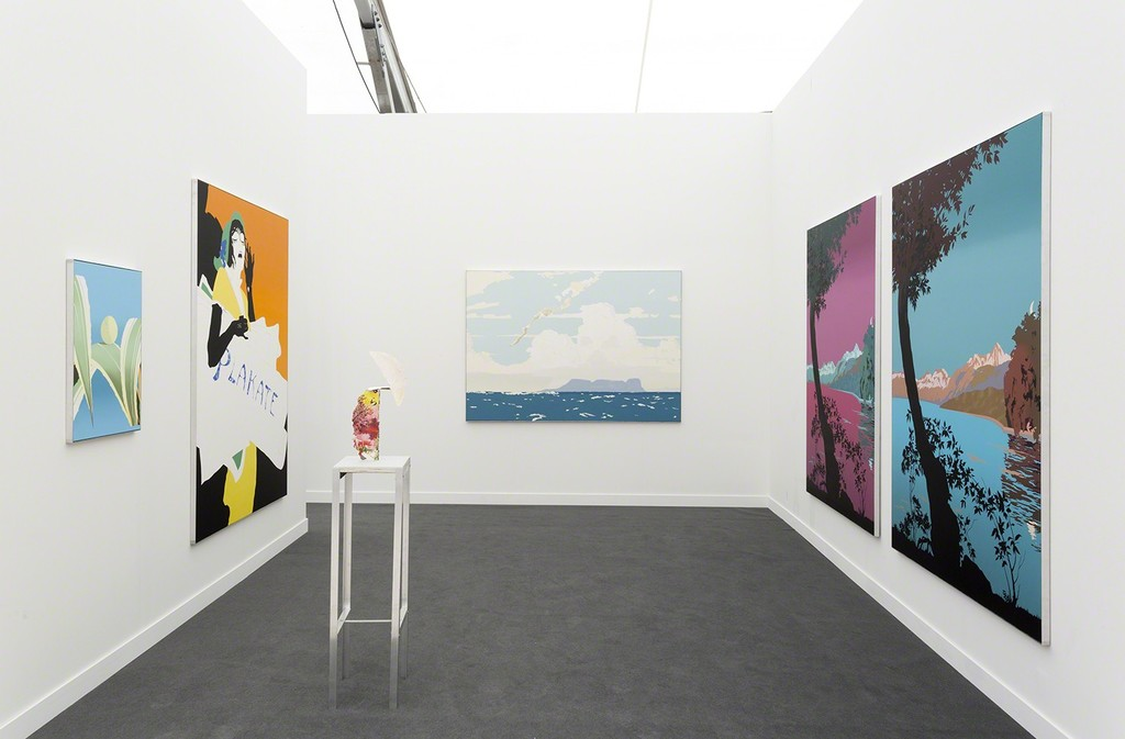 Installation view - GRIMM at Frieze New York 2018