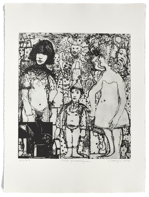 Jean-Pierre Larocque, 'Trois personnages', 2010, Atelier-Galerie A.Piroir