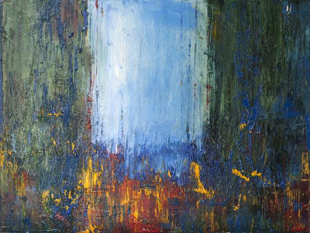 kllogjeri Fotis, ' busy days', 2015, Painting, Oil on canvas, nord.