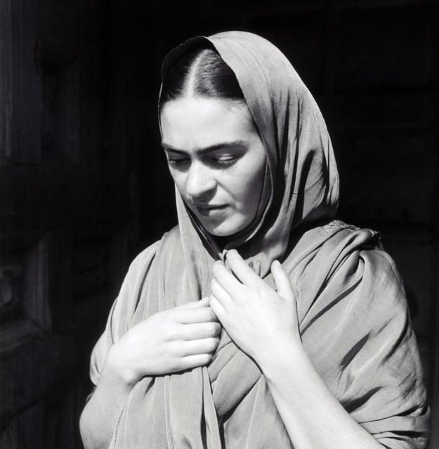 , 'Frida Holding Her Shawl,' 1936, Matthew Liu Fine Arts