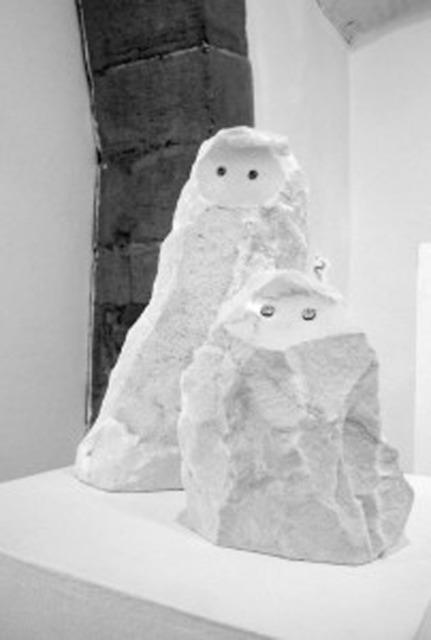 , 'Petits totems protecteurs,' 2013-2014, Valérie Bach