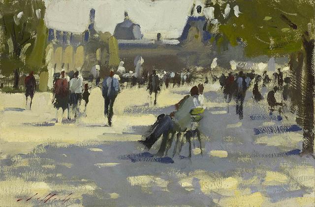 Paul Rafferty, 'In The Shade, Tuileries Gardens', 2013, Portland Gallery
