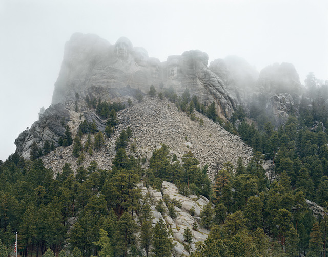 Mitch Epstein, 'Mount Rushmore National Memorial / Six Grandfathers, South Dakota 2018, 2018', 2018, Sikkema Jenkins & Co.