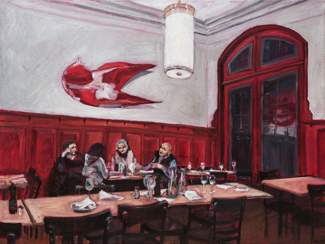 , 'Restaurant zur Mägd (Restaurant in Basel),' 2017, Sarasin Art
