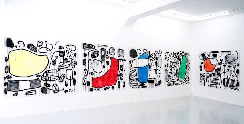 Anne-Lise Coste: La femme parfaite, Installation view, Lullin + Ferrari, Zurich, 2018