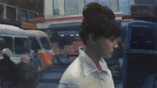 , 'City Street,' 2015, Paul Thiebaud Gallery