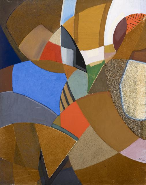 , 'Composition n°2,' 1958, Galerie Marcilhac