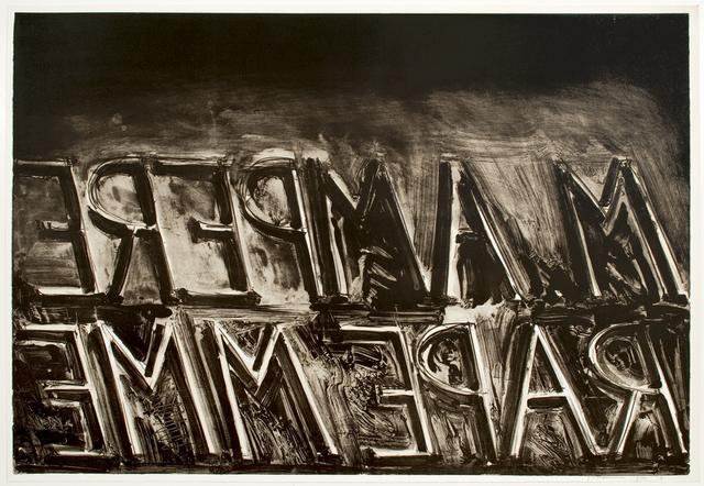 , 'M. Ampere,' 1973, Brooke Alexander, Inc.