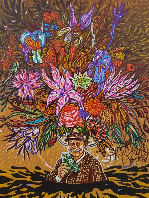 , 'J. R. Ewing Black Gold Garden,' 2016, Ro2 Art