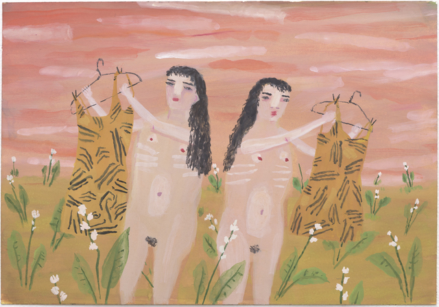 , 'Tiger Twins,' 2016, Lora Schlesinger Gallery