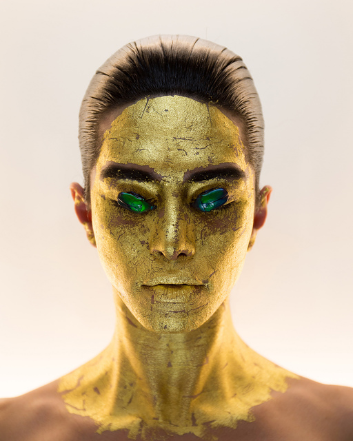 , 'Masking, 24k Gold Mask, p46 from Indigenous Woman,' 2018, RYAN LEE