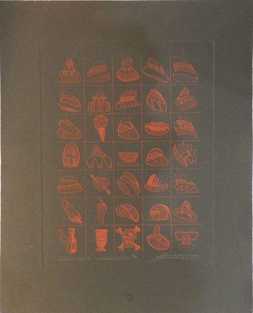 Benito Huerta, 'Red Hot Chalupas', 1984, William Campbell Contemporary Art, Inc.