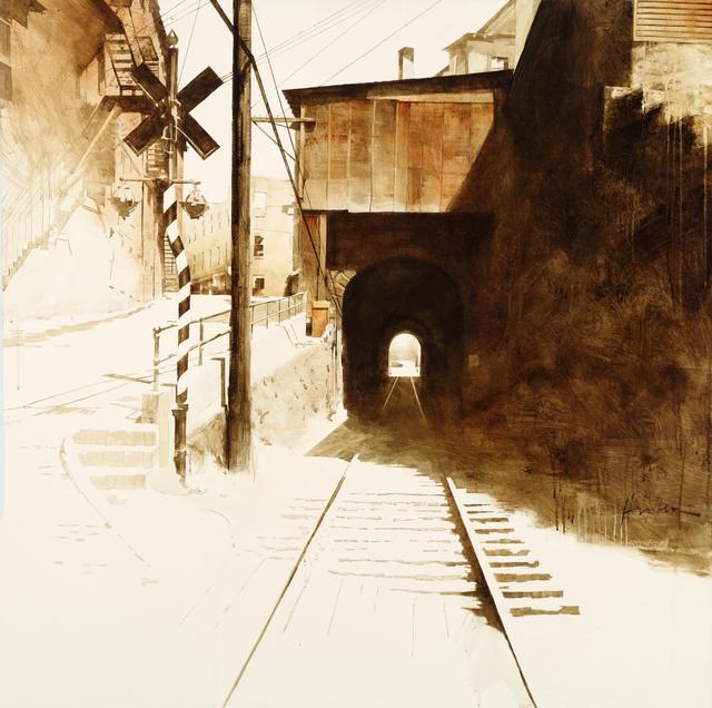 , 'Bellows Falls Tunnel,' , West Branch Gallery