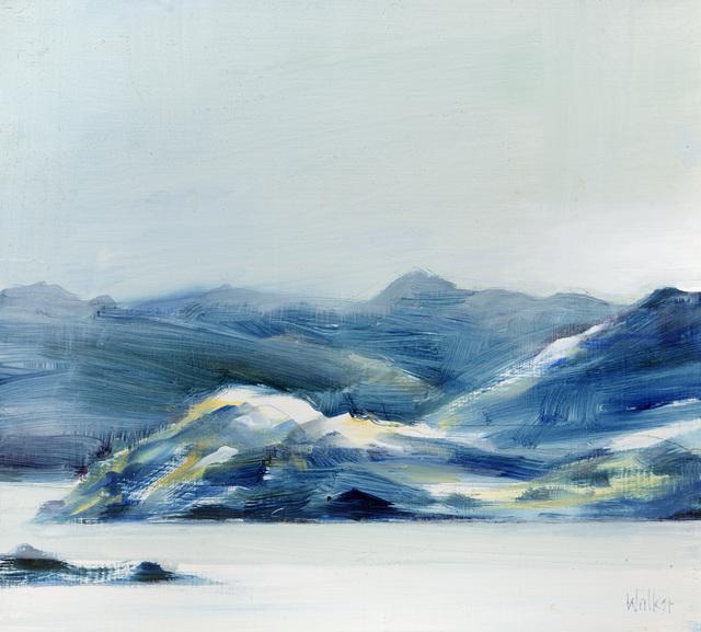 , 'Blue Hills,' 2017, Thackeray Gallery