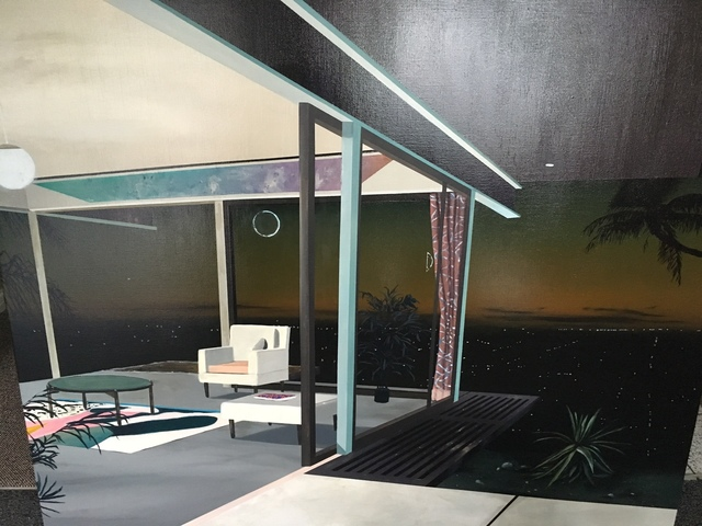 Laurence Jones, 'Details Oriented in Space (Palms)', 2017, Rebecca Hossack Art Gallery
