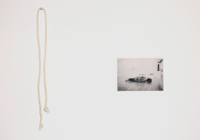 , 'ROPE AND REFERENCE: RESTRAIN,' 2018, Hans & Fritz Contemporary