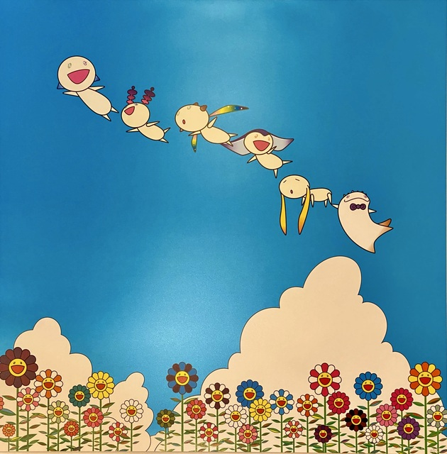 Takashi Murakami, 'Planet 66: Summer Vacation ', 2004, Print, Limited edition offset lithograph in colors on smooth wove paper., Off The Wall Gallery