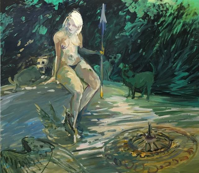 , 'Shield-Maiden,' 2019, Malin Gallery