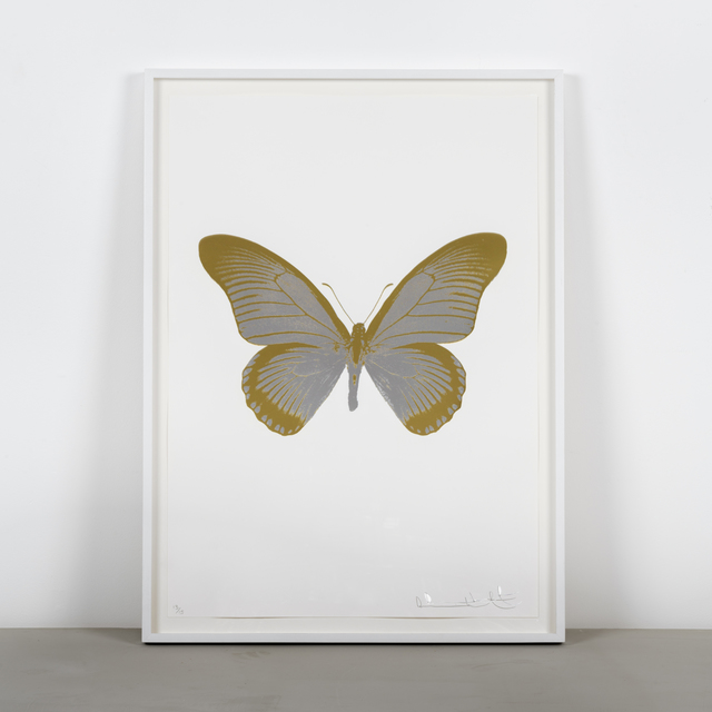 Damien Hirst, 'The Souls IV - Silver Gloss - Oriental Gold', 2010, Samuel Owen Gallery